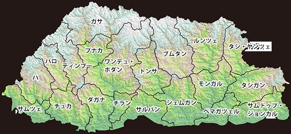 行政区分境界線